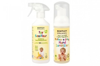 Promoție Bentley Organic: Dezinfectant mâini + Dezinfectant jucării